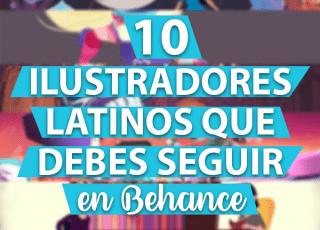 10 Ilustradores Latinos que debes seguir en Behance