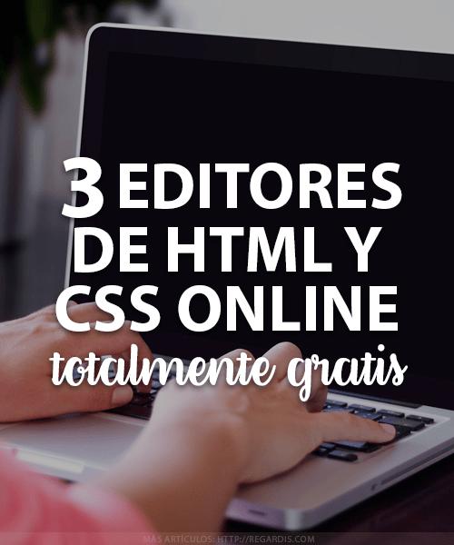 3 Editores de HTML y CSS Online