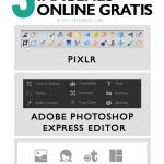 3 Editores de imágenes online gratis