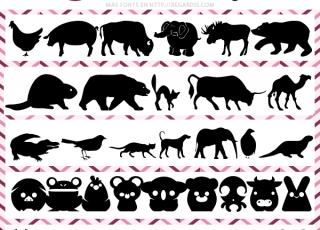 5 Fonts de Animales Gratis