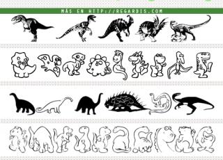 5 Fonts de Dinosaurios Gratis
