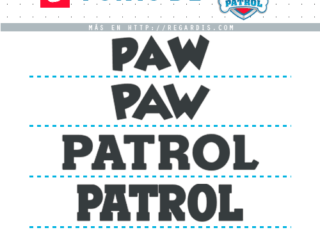 5 Fonts de Paw Patrol Similares para Descargar