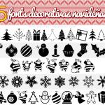 5 Fonts Decorativas Navideñas
