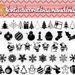 5 Fonts Decorativas Navideñas