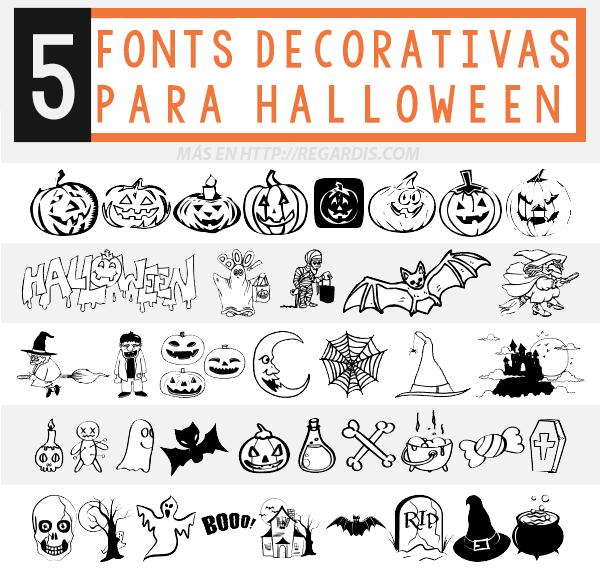 5 Fonts decorativas para Halloween » Regardis