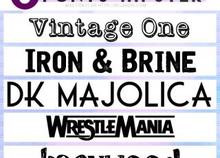 5 Fonts Hipster Gratis