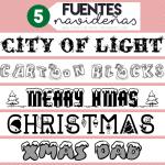 5 Fuentes Navideñas
