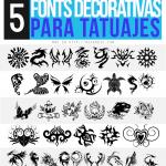 5 Fonts Decorativas para Tatuajes