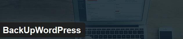 BackUpWordpress - Top 10 Plugins WordPress