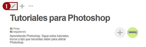 Cómo editar la portada en Pinterest (Nuevo 2016)