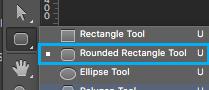 Cómo crear un rectángulo con esquinas redondeadas en Photoshop
