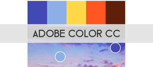 Adobe Color CC: App para un diseñador gráfico para crear paletas de colores