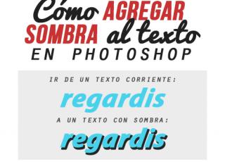Sombra para Texto en Photoshop