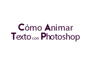Cómo animar texto divertido en Photoshop