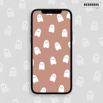 Descarga digital: Fondo de Pantalla para Celular de Fantasmas (Halloween)