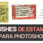 80 Brushes de estampillas