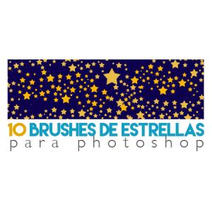 10 Brushes de Estrellas para Photoshop Gratis