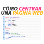 Centrar una Página Web