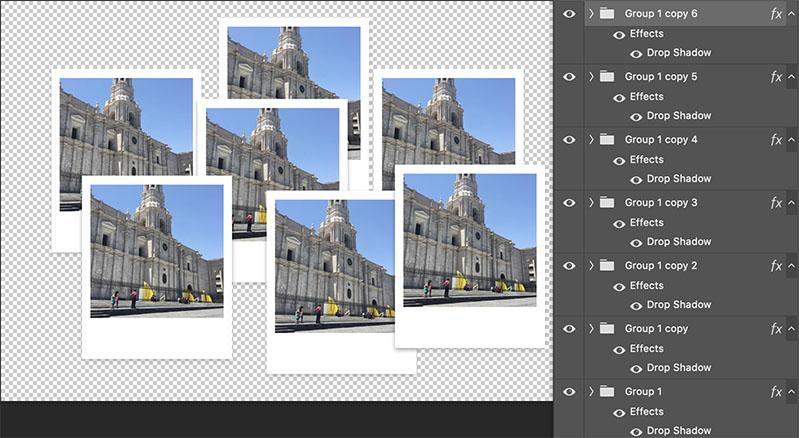 Collage de Fotos en Photoshop