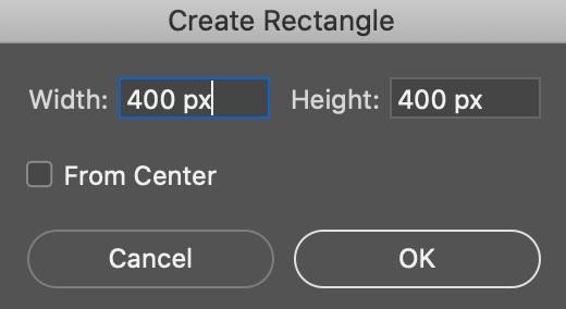 Crear nuevo rectángulo para hacer collage de fotos