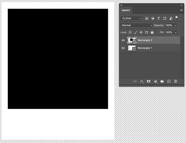 Marco de polaroid en Photoshop