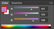 Color Foreground en Photoshop