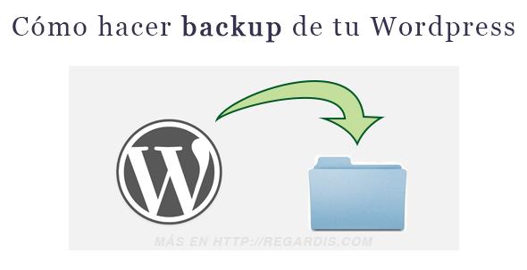 Cómo hacer Backup de WordPress