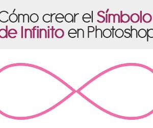 Cómo crear el símbolo de infinito en Photoshop