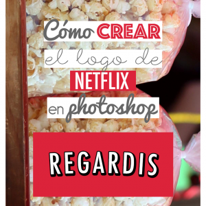 Crear Logo de Netflix en Photoshop