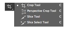 Herramienta Recortar - Crop Tool
