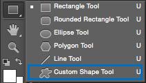 Herramienta de Forma - Custom Shape Tool