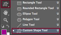 Custom Shape Tool