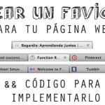 Crear favicon para tu Web