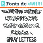 5 Fonts de Graffiti Gratis
