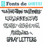 5 Fonts de Graffiti Gratis