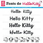 5 Fuentes de Hello Kitty (Similares) - Tipografía / Letra