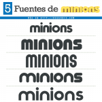5 Fuentes de Minions (Similares)