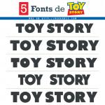 5 Fuentes de Toy Story Gratis (Similares)