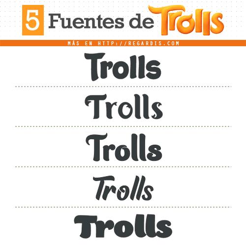 5 Fuentes de Trolls (Similares)