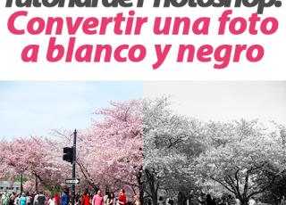 Tutorial de Photoshop: Cómo convertir una foto a blanco y negro