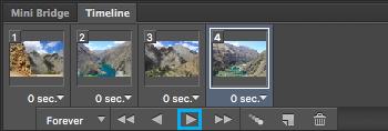 Reproducir animación de fotos / gif de fotos