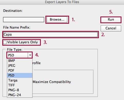 Cómo guardar cada capa de Photoshop en un archivo