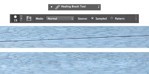 Herramienta Healing Brush Tool