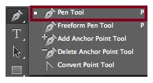 Crear Símbolo de Infinito en Photoshop usando Pen Tool