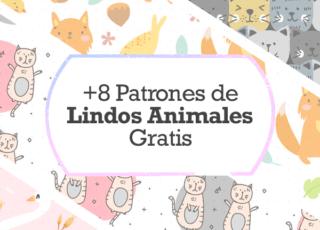 +8 Patrones de Lindos Animales Gratis