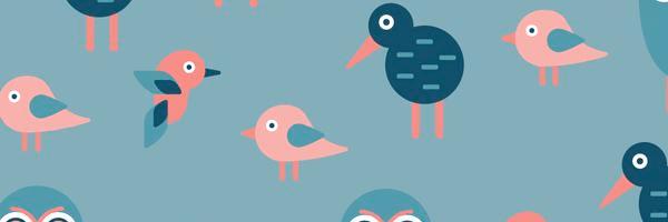 Patrones de pájaros