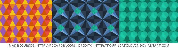 3 Patrones Geométricos Gratis