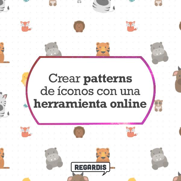 Crear patterns de íconos con una herramienta online