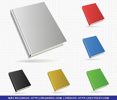 6 PNGs de Útiles Escolares: Libros y Cuadernos