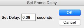 Cómo poner tiempo a un GIF